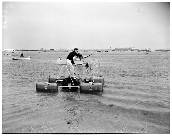 Nautical treadmill, 1953