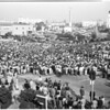 Detail 10 of 18, UCLA victory rally, 1953