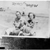 Police shooting at Laguna Beach, 1953