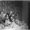 Christmas dolls -- Orange County women sell dolls for handicapped employees of Goodwill Industries, 1953