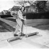 Mechanized Ski invention, 1953