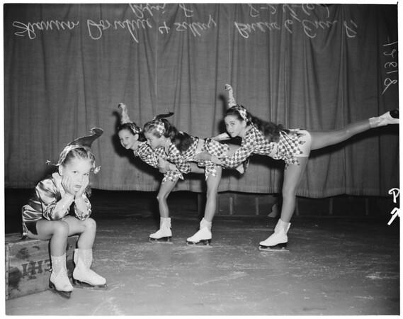 Exchange Club ice show, 1960