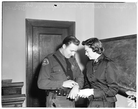 John Wayne trial, 1953