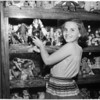 Dolls collection (133 South Edinburgh Avenue, Los Angeles, 1953