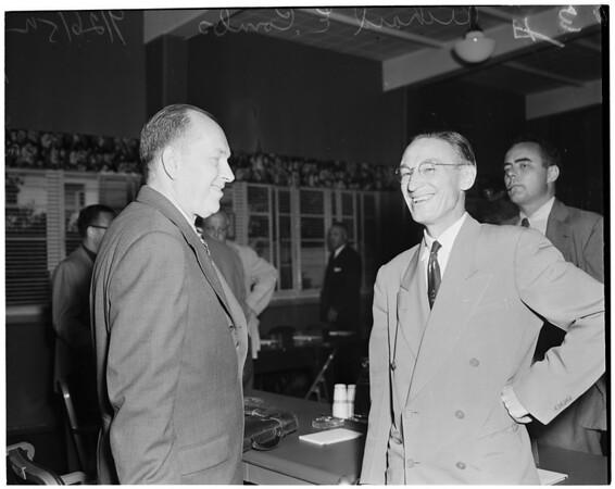 C.H.A. hearing, 1952