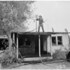 Fires: House fire at 209 West 97th Street, 1954