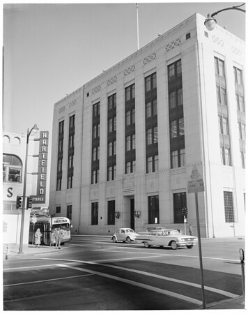 Bank -- Federal Reserve Bank building, 1960