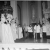 Saint Vibiana Church Christmas mass, 1953