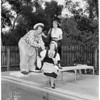 Detail 2 of 3, Circus Time Assistance League of Flintridge, 1955
