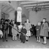 San Fernando Christmas Posada at Mission, 1953