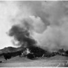 Wiley Canyon fire, Newhall, 1953