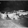 Freeway accident, 1954