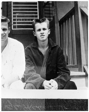 Runaway kids, 1953
