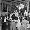 Santa visits Saint Elizabeth's, 1953