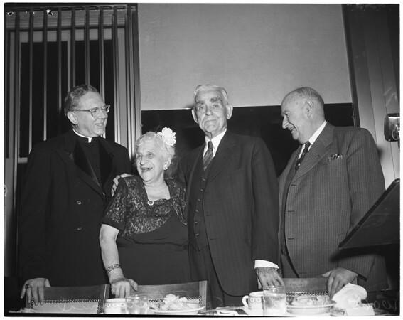 Detail 6 of 6, Joe Scott testimonial dinner, 1953