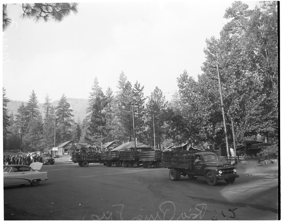 Big Pines fire, 1953