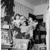 Christmas -- California babies and Children's Hospital, 1953