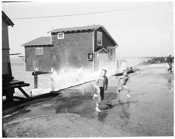 Surfside waves, 1953