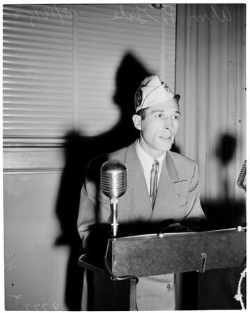 Detail 10 of 17, School Board loyalty hearing, 1952