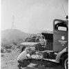 Detail 7 of 17, Fire at Dry Canyon 3 miles North East of Saugus, 1953