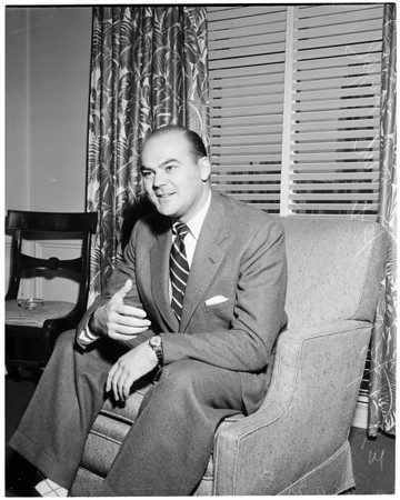 Interview at Town House, 1953