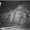 Fire in house at 734 San Julian Street, 1956