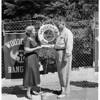 Woodcraft Rangers (Lake Arrowhead camp pool dedicated), 1954