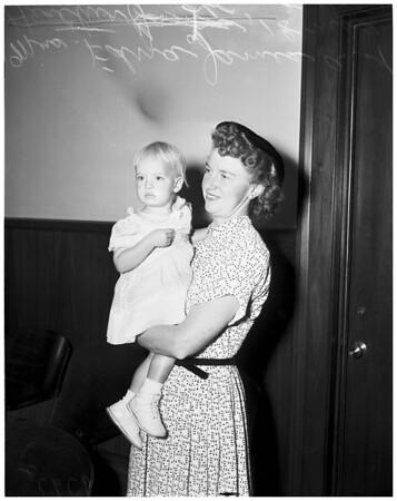 James adoption, 1953