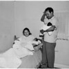 Triplets born to Santa Ana couple (Orange County section), 1960