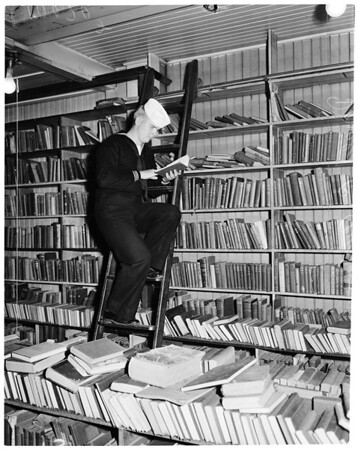 Used book stores, 1953