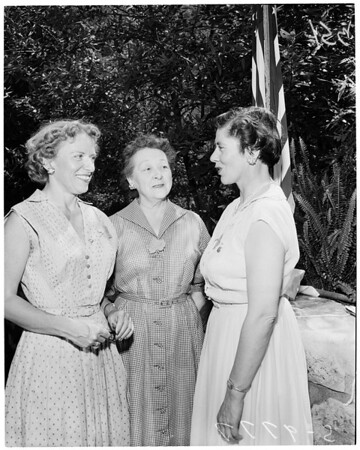 Detail 1 of 2, Los Angeles Soroptimists, 1955
