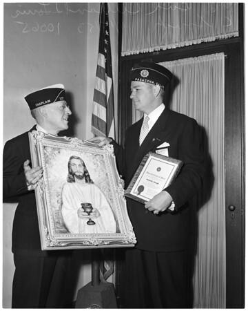 Detail 1 of 2, American Legion caucus, 1953