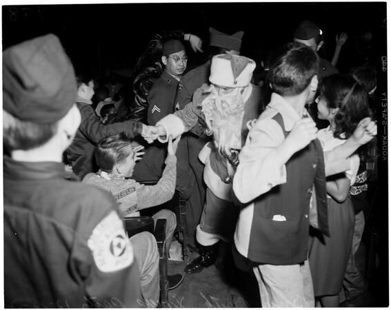 B'nai B'rith Church Christmas party, 1952