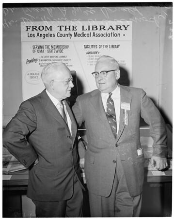 California Medical Association meeting, 1957