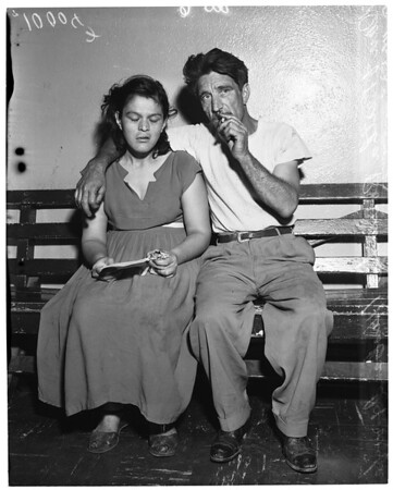 "Man and wife arrested for ""keeping untidy house"", 1953"