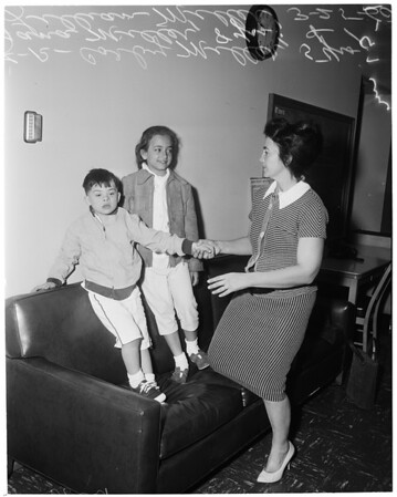 Custody case, 1960