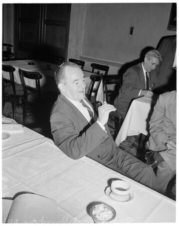 Press conference, 1960