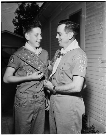 Youngest Eagle Scout, 1953