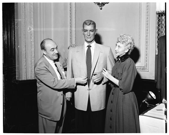 Calmac show -- Alexander Hotel, 1953
