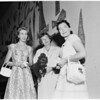 Detail 2 of 2, Society -- Women planning Saint John's Hospital Party, 1955