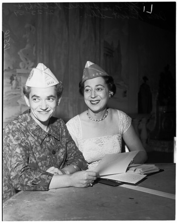 National President, Ladies Auxiliary, Jewish War Veterans of the U.S., 1959