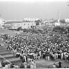 Detail 1 of 18, UCLA victory rally, 1953