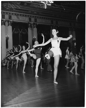 Detail 3 of 6, Dancing teachers convention, 1953
