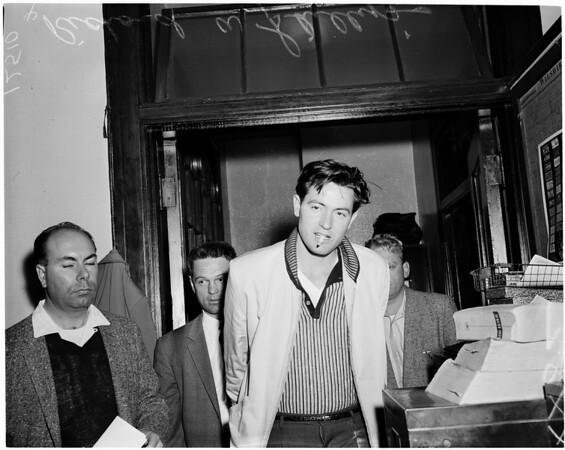Detail 2 of 2, Burglary suspects, 1959