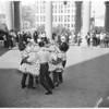 Square dancers, 1953
