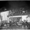 Fire at 11550 Laurelcrest Road, North Hollywood, 1953