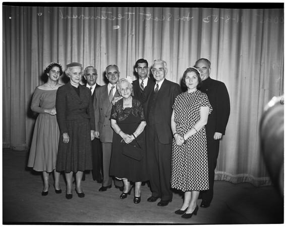 Detail 2 of 6, Joe Scott testimonial dinner, 1953