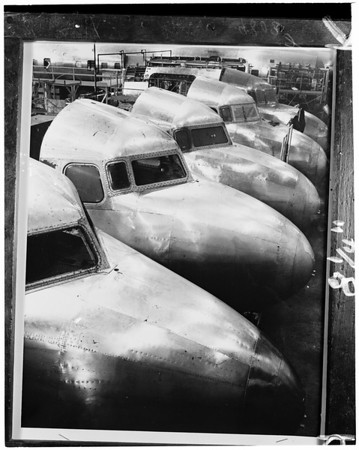 Douglas DC-6B (nose assembly at Santa Monica Plant), 1953
