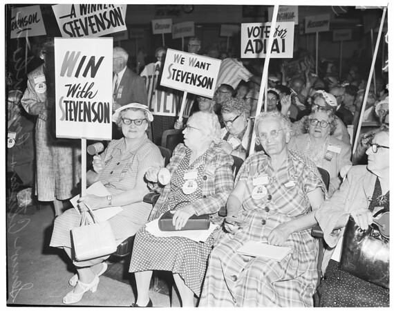 Detail 2 of 3, Senior citizens convention, 1960