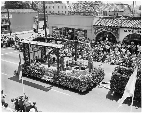 Santa Barbara fiesta, 1960